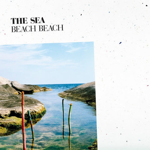 Beach Beach - The Sea - New Vinyl Record 2014 Jangly Indie / Power Pop - Includes MP3 Download card!