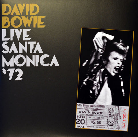 David Bowie ‎– Live Santa Monica '72 - New 2 Lp Record 2016 Europe Import Vinyl - Art-Rock / Glam