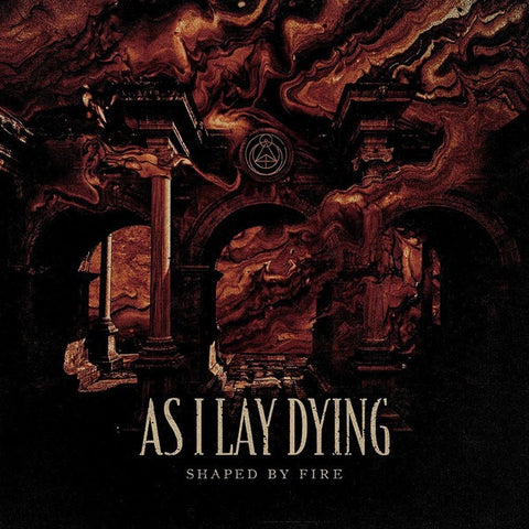 As I Lay Dying - Shaped By Fire - New LP Record 2019 Limited Edition Beer Colored with Black Splatter Vinyl - Metalcore