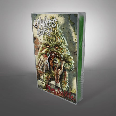 Cannabis Corpse ‎– Nug So Vile - New Cassette 2019 Season of Mist Limited Edition Green Colored Tape - Death Metal