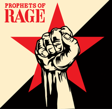 Prophets Of Rage - S/T debut - New Vinyl 2017 Fantasy Records 180Gram Pressing on 'Translucent Red with Black Marble' Vinyl with Download - Rap-Rock (feat. Memebers of Rage Against the Machine, Public Enemy, Cypress Hill)