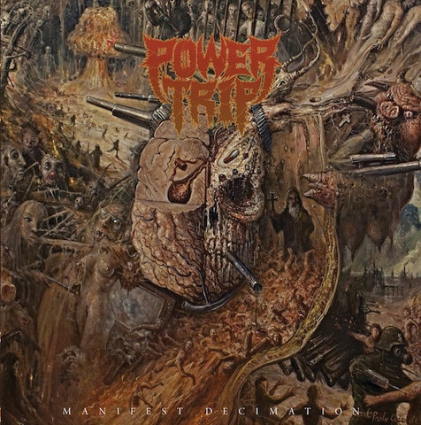 Power Trip ‎– Manifest Decimation - New LP Record 2013 Southern Lord USA Unknown Color Vinyl - Thrash Metal