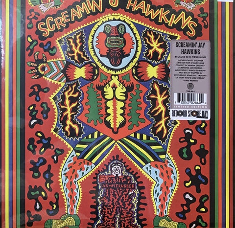 Screamin Jay Hawkins ‎– Because Is In Your Mind (1970) - New Lp Record Store Day 2020 Third Man USA RSD - Rock & Roll