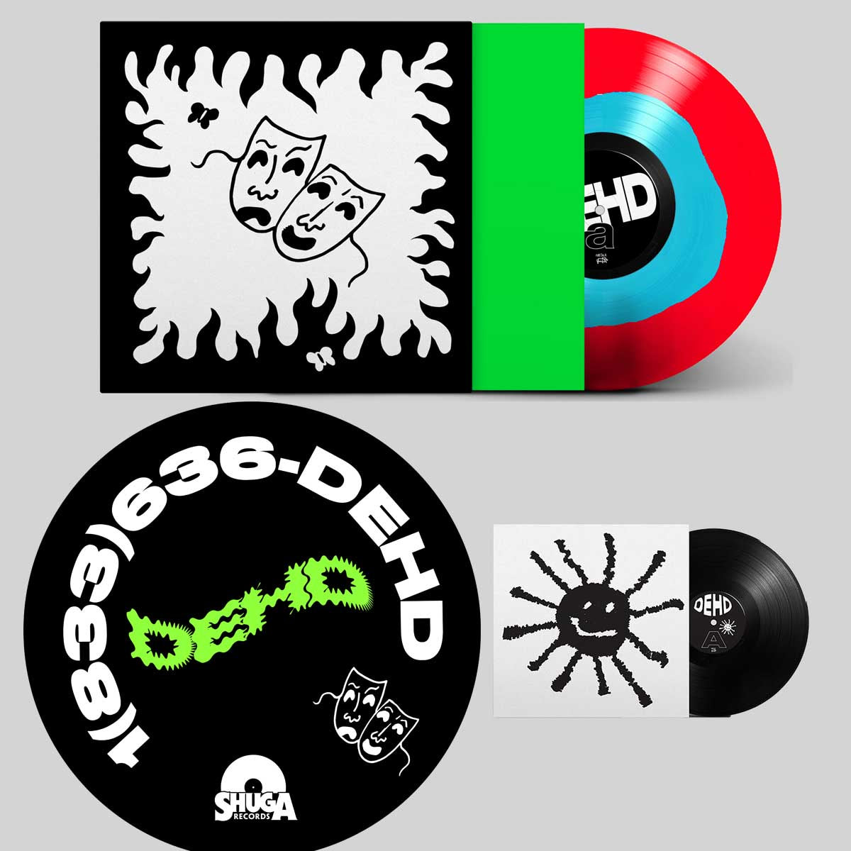"Dehd - Flower of Devotion - New Lp Record 2020 Fire Talk USA Chicago Exclusive Red & Blue Vinyl, Slipmat & 7"" - Chicago Indie Rock"
