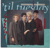'Til Tuesday ‎– Looking Over My Shoulder - Mint- 45rpm 1985 USA - Synth-Pop