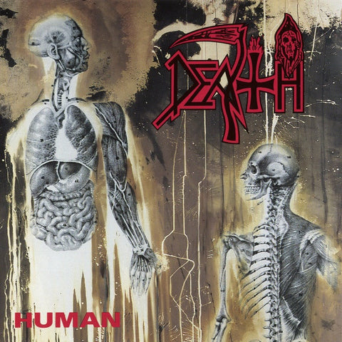 Death - Human (Remastered Reissue) - New LP Record 2017 Relapse Limited Indie Exclusive Gold Vinyl - Death Metal