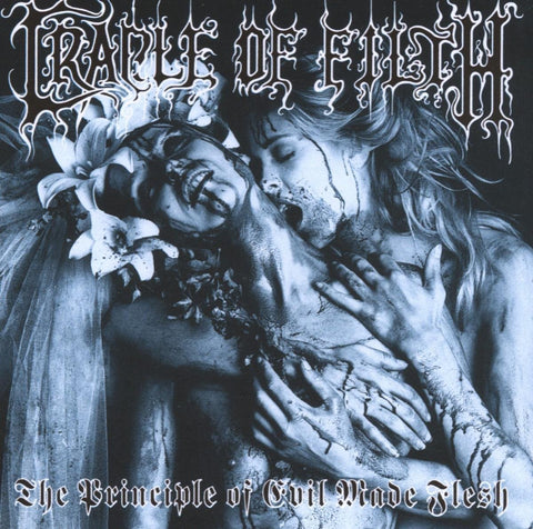 Cradle Of Filth ‎– The Principle Of Evil Made Flesh (1994) - New Vinyl 2017 The End Records Limited Edition ROCKtober 2-LP Reissue on 'Blood Splatter' Vinyl with Gatefold Jacket - Black Metal