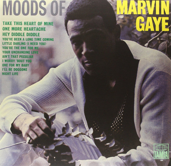 Marvin Gaye ‎– Moods Of Marvin Gaye (1966) - New Vinyl Record 2016 UK / Europe Import Press - Soul / Funk