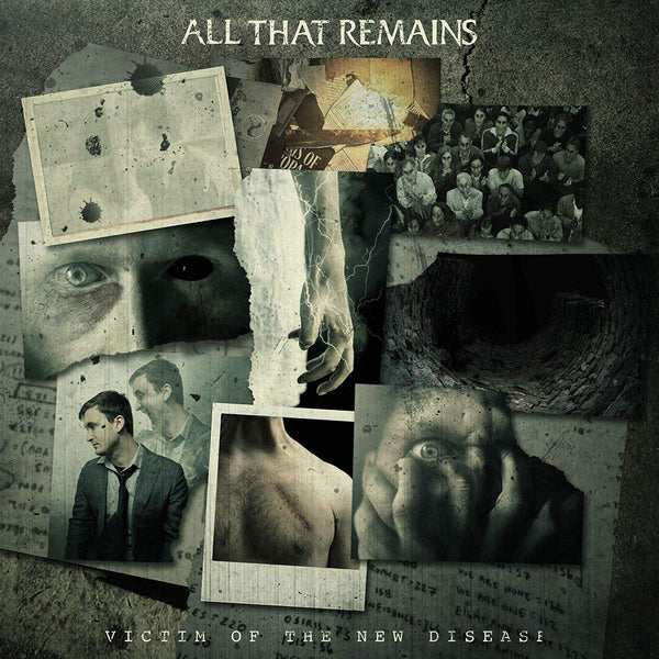 All That Remains ‎– Victim Of The New Disease - New Vinyl Lp 2019 Razor & Tie Black Vinyl Pressing with Download - Metalcore