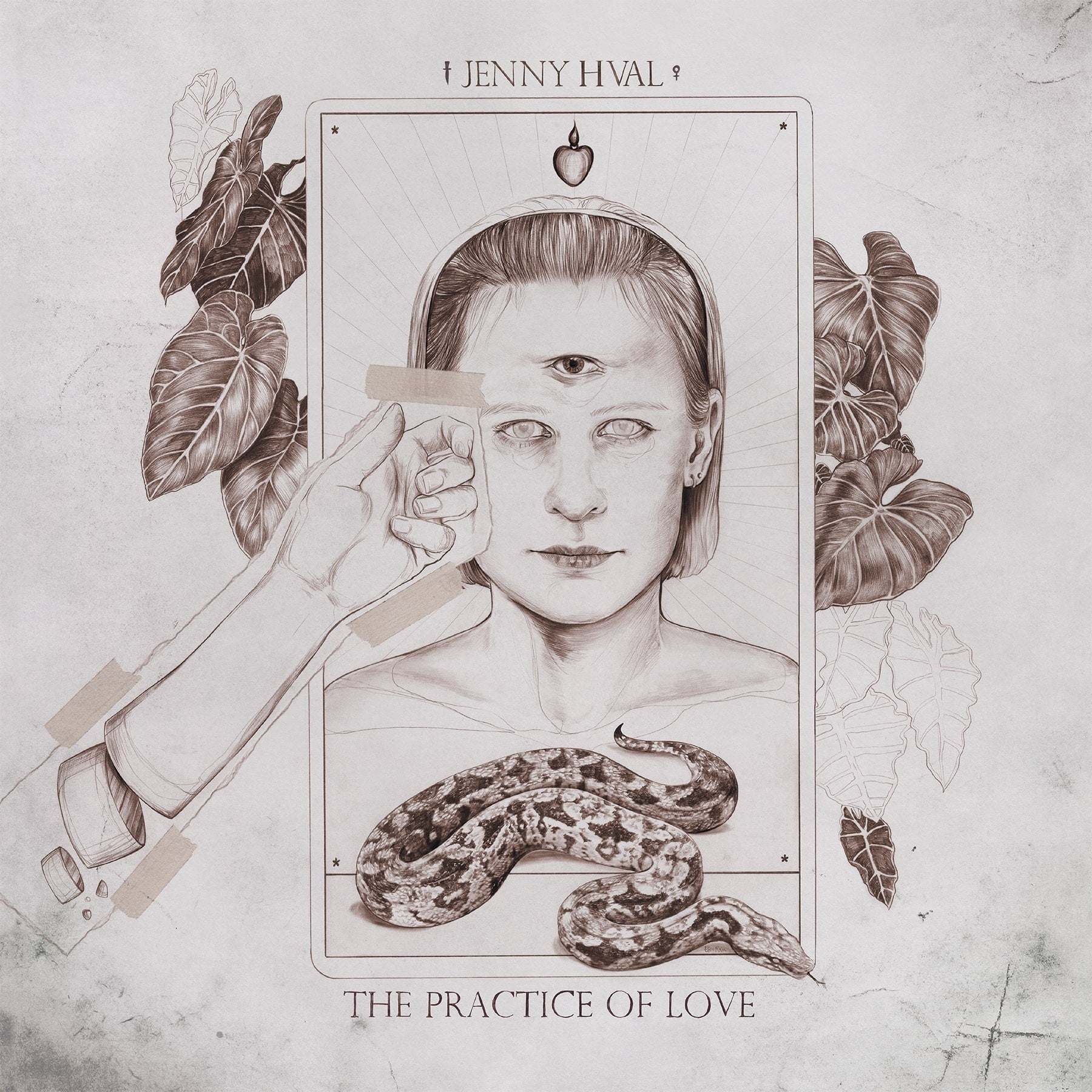 Jenny Hval - The Practice of Love - New LP Record 2019 Sacred Bones Limited Edition Sand Colored Vinyl - Electronic / Art Pop