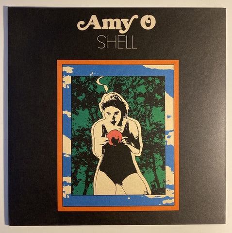 Amy O ‎– Shell - New Record LP 2019 Winspear Limited Edition Gold Honey Vinyl with Download - Indie Pop / Rock