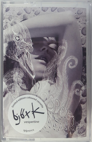 Björk ‎– Vespertine - New Cassette 2019 Limited Edition Reissue White Colored Tape - Electronic / Pop / Experimental