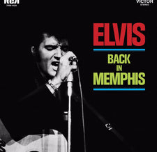 Elvis Presley - Back in Memphis - New Vinyl 2018 Friday Music 180Gram Audiophile Reissue on Translucent Gold Vinyl with Gatefold Jacket and Poster - Rock