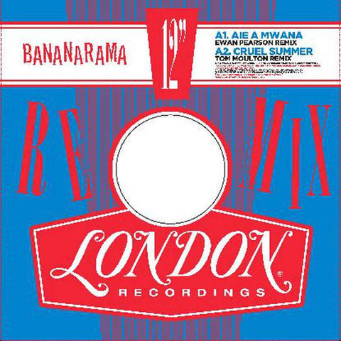 "Bananarama - Bananarama Remixed: Vol 1 - New 12"" 2019 London RSD Limited Release on Red Vinyl - Rock / Disco"