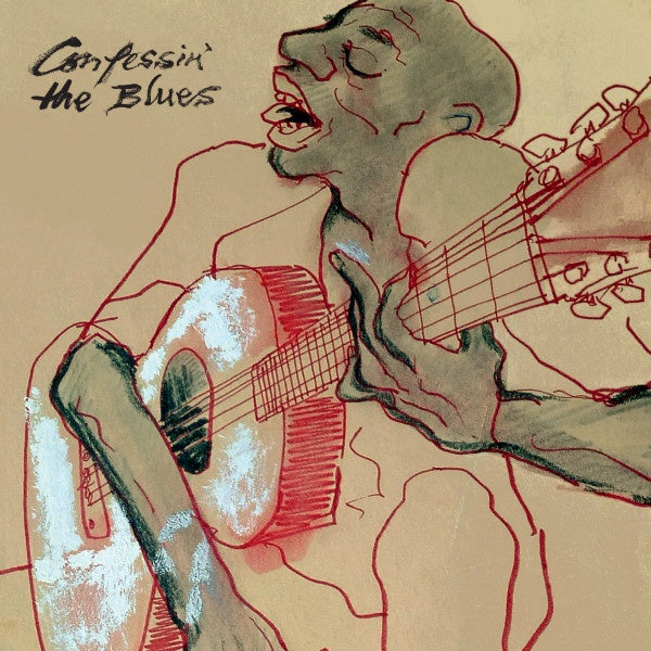 Various - Confessin' The Blues, Vol. 1 - New Vinyl 2 Lp 2018 BMG Limited Edition Compilation Presing with Gatefold Jacket - Blues