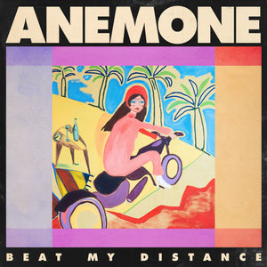 anemone ‎– Beat My Distance - New Lp Record 2019 Luminelle USA Vinyl - Indie Rock / Dream Pop / Psychedelic Rock