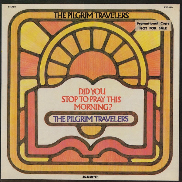 The Pilgrim Travelers ‎– Did You Stop To Pray This Morning? - VG+ Lp Record 1971 USA Original Vinyl - Soul / Gospel