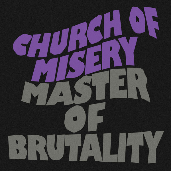 Church Of Misery ‎– Master Of Brutality (2001) - New 2 Lp Record Rise Above 30th Anniversary Gold Sparkle Vinyl Edition - Doom Metal