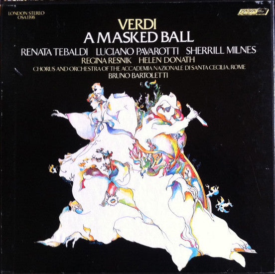 Bruno Bartoletti - Giuseppe Verdi - Un Ballo in Maschera (A Masked Ball) - New Vinyl 1971 (Original Press) 3 Lp Set Stereo USA - Classical