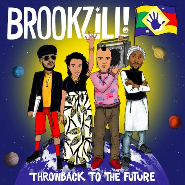 Brookzill! - Throwback to the Future - New Vinyl Record 2016 Tommy Boy Records - Rap / HipHop feat. Prince Paul!