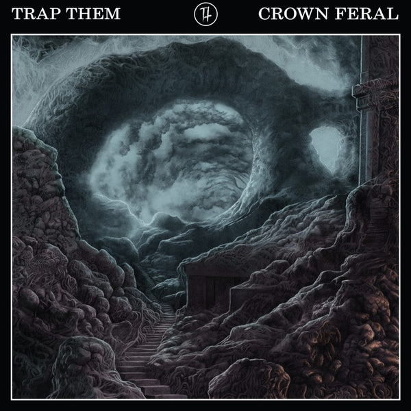 Trap Them - Crown Feral - New Vinyl 2016 Prosthetic Records Limited Edition White Vinyl - Hardcore / Grindcore / Crust
