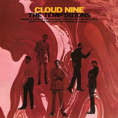 The Temptations - Cloud Nine - New LP Record 2019 Reissue Limited Edition Red Swirl Vinyl - Soul / Funk
