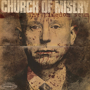 Church Of Misery ‎– Thy Kingdom Scum (2013) - New 2 Lp Record Rise Above 30th Anniversary Gold Sparkle Vinyl Edition - Doom Metal