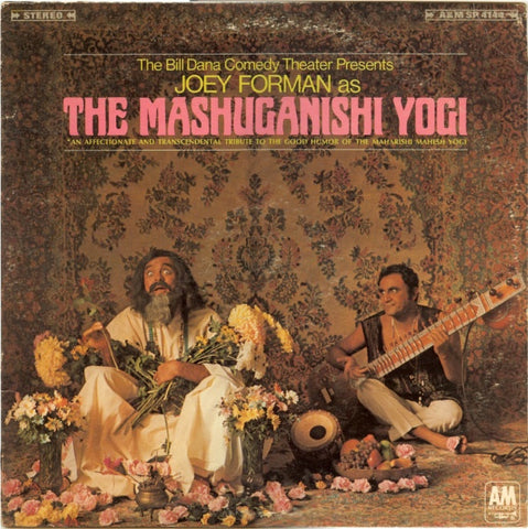 Bill Dana & Joey Forman ‎– The Mashuganishi Yogi - M- LP Record 1968 A&M USA - Comedy