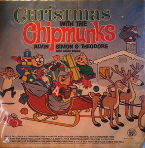 The Chipmunks & David Seville ‎– Christmas With The Chipmunks - VG+ 1974 Stereo USA - Holiday / Christmas