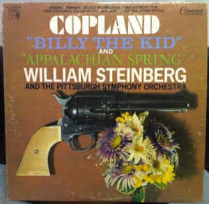 Aaron Copland ‎- Billy The Kid And Appalachian Spring - VG+ Stereo Gatefold 1975 USA - Classical