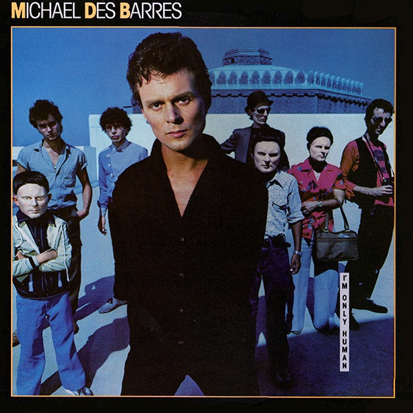 Michael Des Barres ‎– I'm Only Human - VG+ Lp Record 1980 Dreamland USA Promo Vinyl - Pop Rock