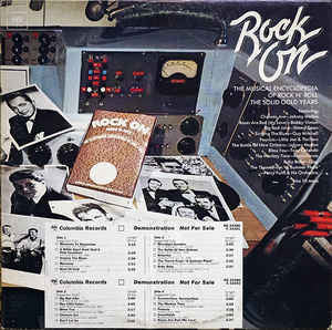 The Rip Chords/The Jamies/Major Lance/Little Joe Cook And The Thrillers/Stonewall Jackson/Marty Robbins - Rock On : The Musical Encyclopedia Of Rock N' Roll The Solid Gold Years - VG+ 2 Lp Set 1975 Stereo USA - Rock/Pop