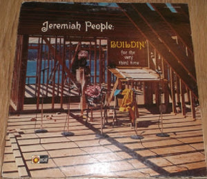 Jeremiah People ‎– Buildin' For The Very Third Time - VG+ Lp Record 1973 USA Original Vinyl - Rock / Xian