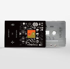 Bon Iver - 22, A Million - New Cassette Tape - 2016 Limited Edition Jagjaguwar Silver Cassette - Indie Folk / Experimental / FEELS