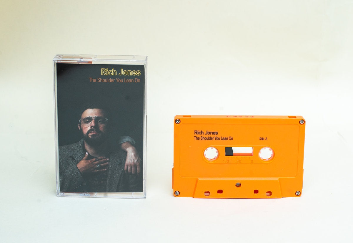 Rich Jones - The Shoulder You Lean On - New Cassette 2018 Orange Tape - Chicago, IL Hip Hop