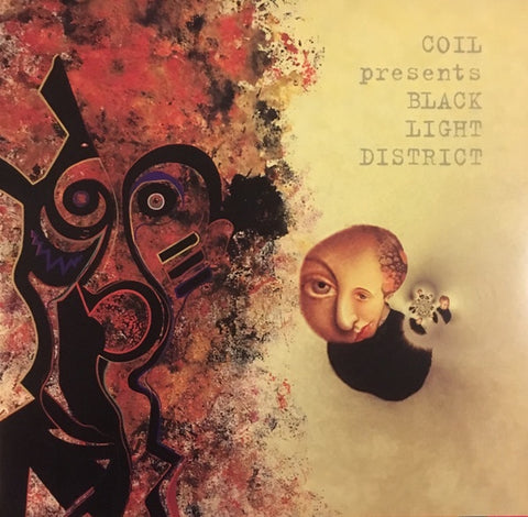 Coil Presents Black Light District ‎– A Thousand Lights In A Darkened Room (1996) - New 2 Lp Record 2018 DAIS USA Red Vinyl & Download - Electronic / Experimental / Ambient