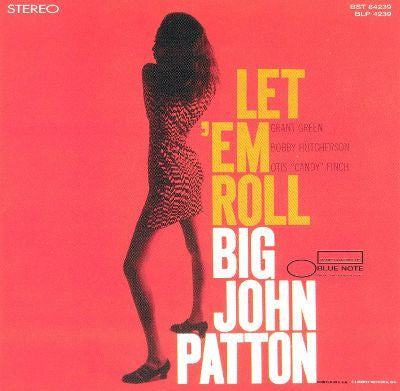 Big John Patton - Let 'Em Roll - New Vinyl Record 2014 Blue Note Reissue LP - Jazz