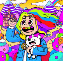 6ix9ine ‎– Day69: Graduation Day - New Vinyl Lp 2018 Scumbag / TenThousand Projects Pressing with Download - Rap / Trap
