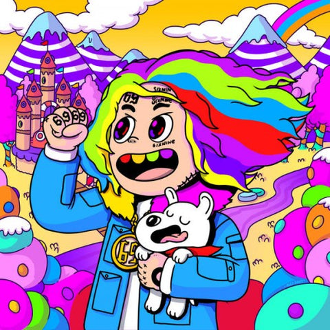 6ix9ine ‎– Day69: Graduation Day - New Lp Record 2018 Scumbag / TenThousand Projects USA Rainbow Vinyl & Download - Rap / Trap