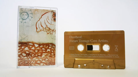 Deerhoof - Future Teenage Cave Artists - New Cassette 2020 Joyful Noise Gold Tape - Indie Rock