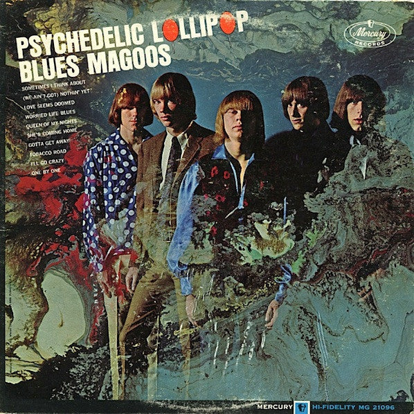 Blues Magoos ‎– Psychedelic Lollipop - VG 1966 Mono Original Press USA - Psychedelic Rock