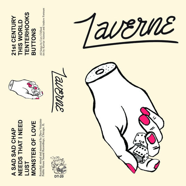 Laverne -  Laverne - New Cassette 2016 Dumpster Tapes Clear Tape (Handnumbered to 75) with Download - Chicago, IL Garage Rock