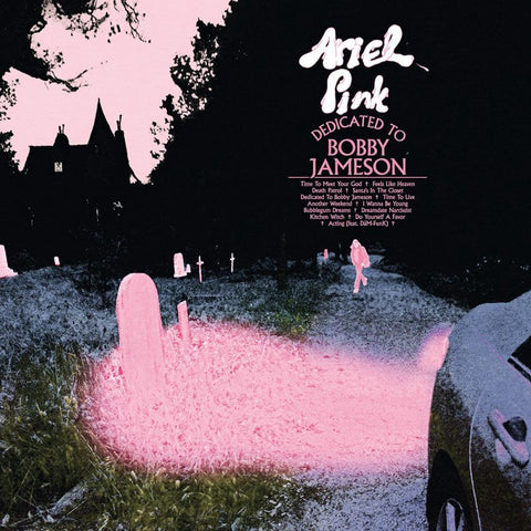 Ariel Pink - Dedicated to Bobby Jameson - New Vinyl 2017 Mexican Summer Pressing on Standard Black Vinyl with Download - Pop-Psych / Lo-Fi / Indie