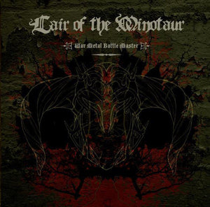 Lair Of The Minotaur - War Metal Battle Master - New Vinyl Record 2008 USA (RED VINYL WITH BOOK) USA - Doom Metal/Black/Death