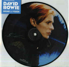 "David Bowie ‎– Sound And Vision - New 7"" Vinyl 2017 Parlophone '40th Anniversary' Limited Edition Remastered Picture Disc - Art-Rock"