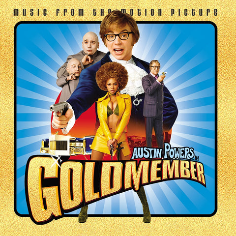 Various - Music From The Motion Picture: Austin Powers in Goldmember(2002) - New Lp Record Store Day 2020 Maverick USA RSD Gold Vinyl - Soundtrack