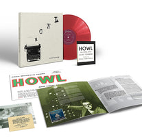 Allen Ginsberg - Howl and Other Poems - New Vinyl 2018 Craft Recordings Deluxe Edition on 180gram Red Vinyl with Book, Photo, and Replica Postcard of Original Howl Reading Invitation - Spoken Word / Poetry