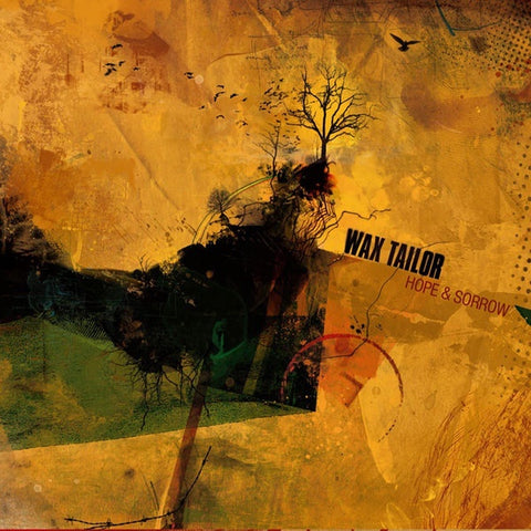 Wax Tailor - Hope & Sorrow - New Vinyl 2015 Lab'Oratoire / Le Plan 2 Lp Europe Import Reissue - Electronica / Trip Hop / Downtempo