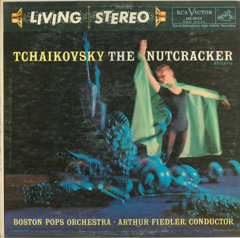 Arthur Fiedler ‎– Tchaikovsky The Nutcracker (Excerpts) VG+ 1958 USAr Lp Record Living Stereo - Classical