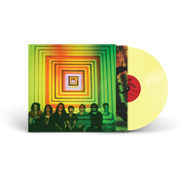 King Gizzard & The Lizard Wizard ‎– Float Along - Fill Your Lungs - New Lp Record 2018 ATO USA Yellow Vinyl & Poster - Psychedelic Rock / Garage Rock